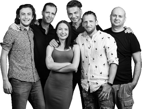 D studio team photo
